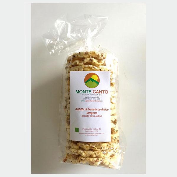 Gallette di granoturco antico - Società agricola Montecanto